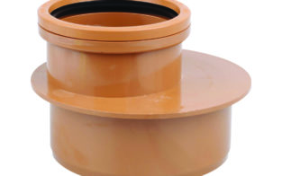 OSMADRAIN SINGLE SOCKET LEVEL INVERT REDUCER 160 X 110mm