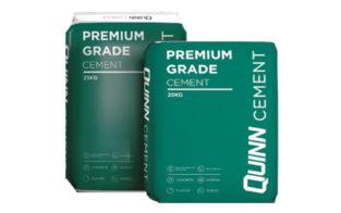 QUINN MASTER GRADE CEMENT 25kg (PLASTIC BAG)
