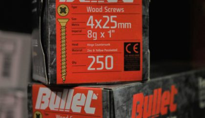 Boxed Woodscrews & Auxiliaries
